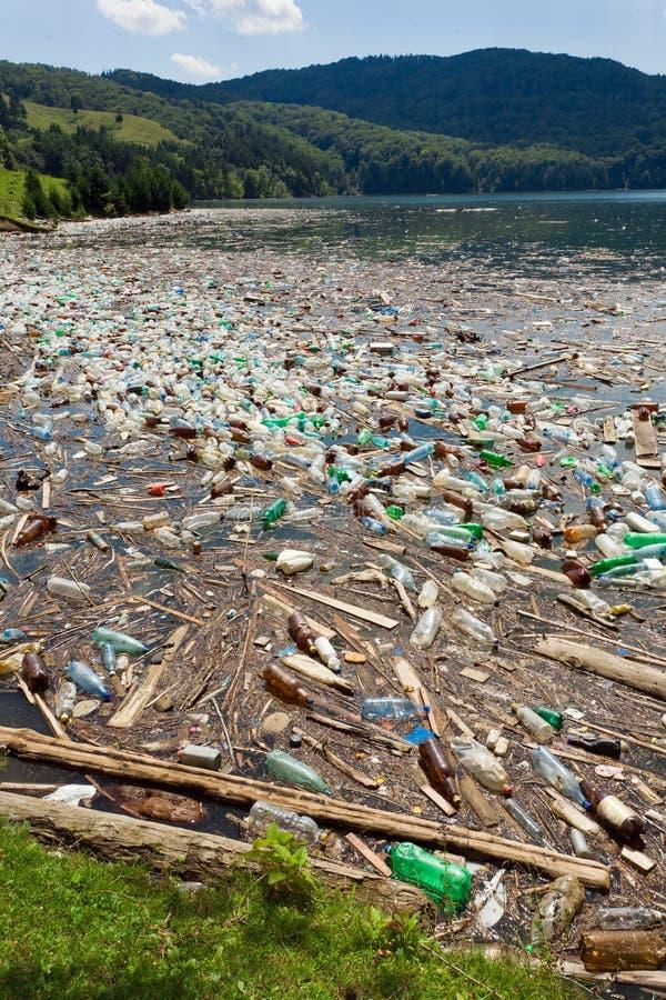 Pollution de nature photo libre de droits