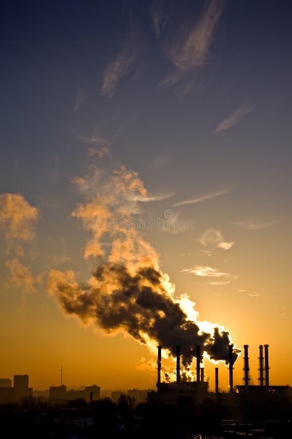 pollution environnementale photographie stock