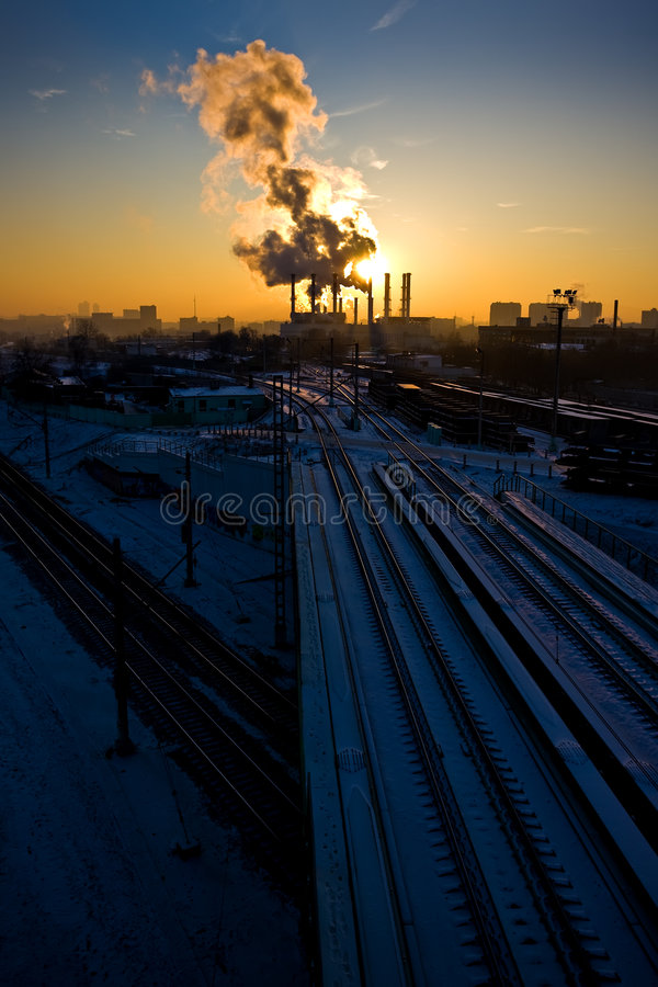 pollution environnementale photo libre de droits