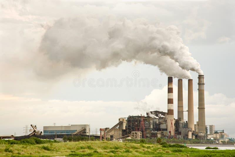 Pollution industrielle photos libres de droits