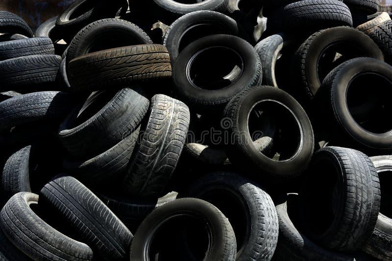Pollution noire de texture de fond de système pneumatique photo libre de droits