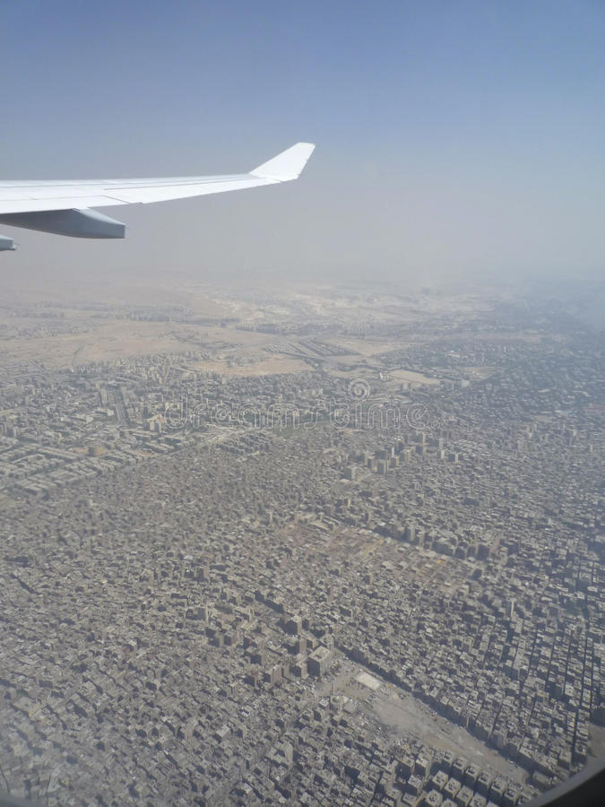 Pollution over Cairo city