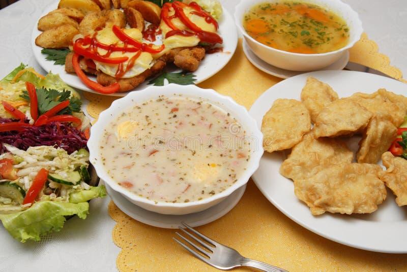 Polnische Nahrung stockbild