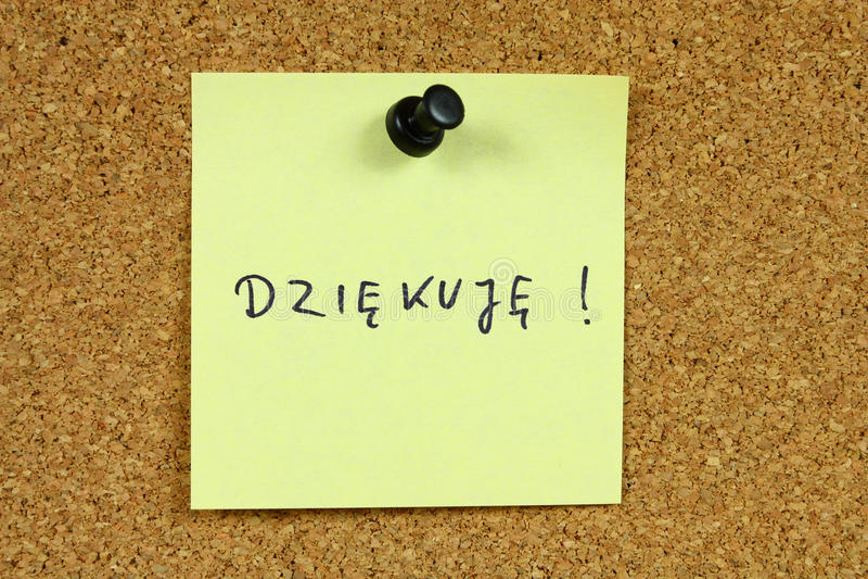 Polnische Sprache stockfotos