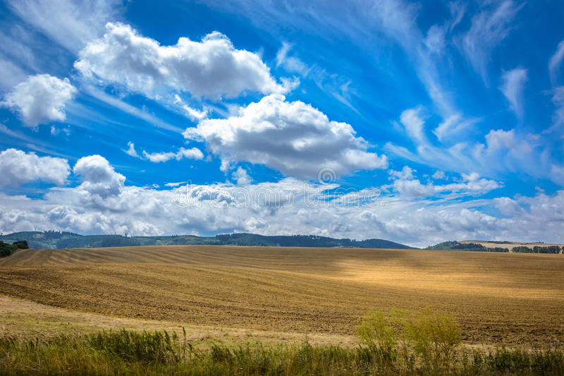 Polnischer Himmel stockbilder