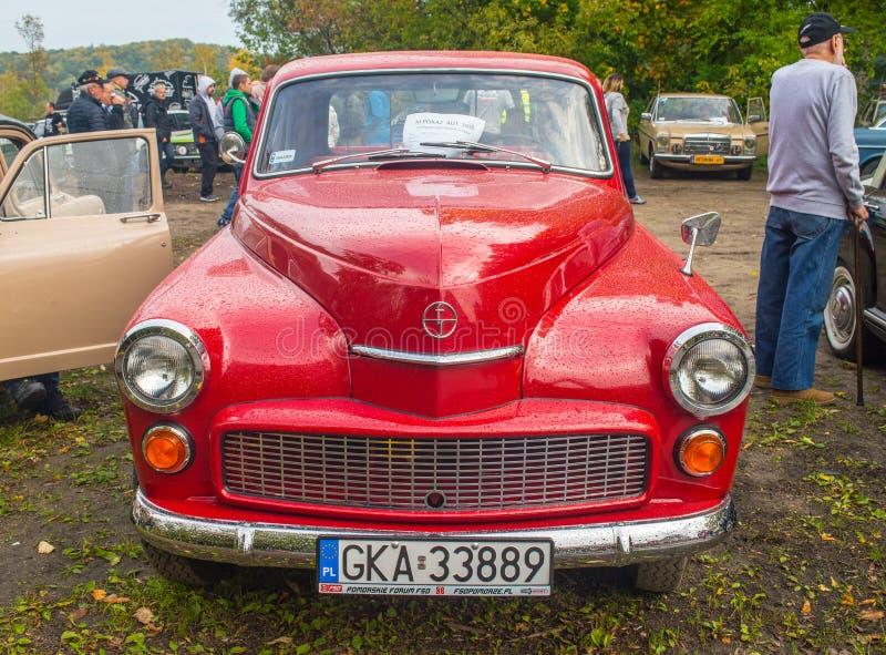 Polnischer LKW Warschau 204 des Klassikers stockfotos