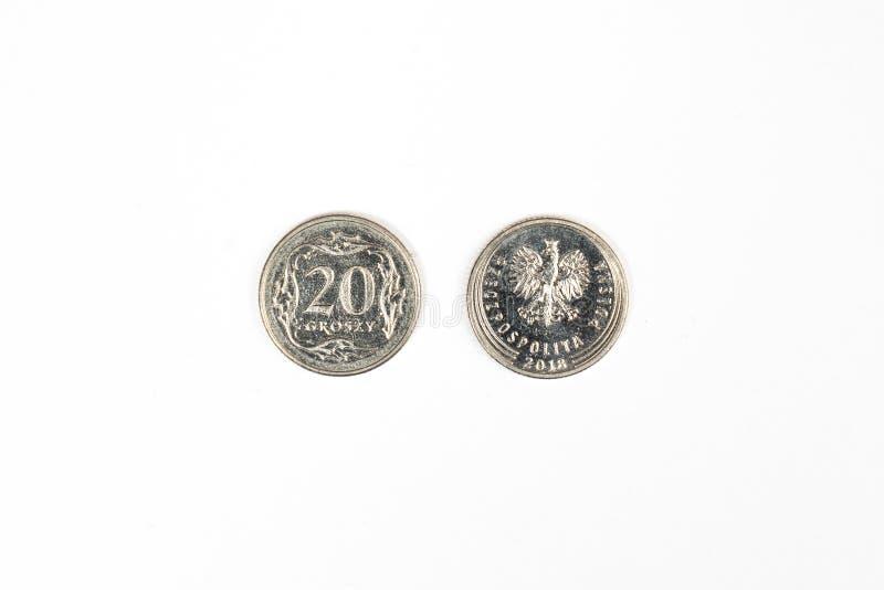 Polnischer Zloty stockfotografie