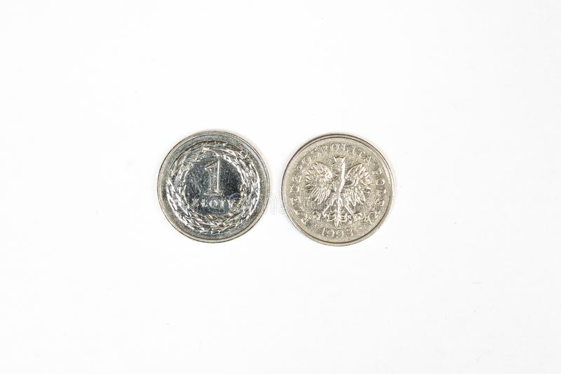Polnischer Zloty lizenzfreies stockbild