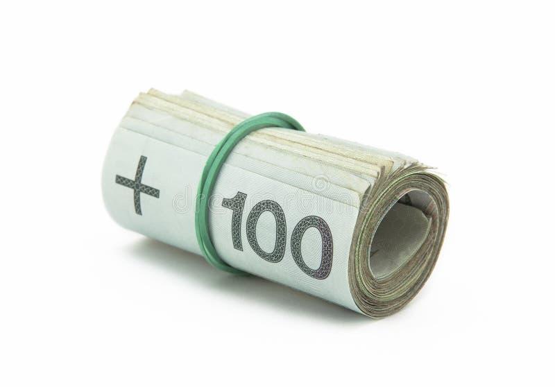 Polnisches Geld lizenzfreie stockfotos