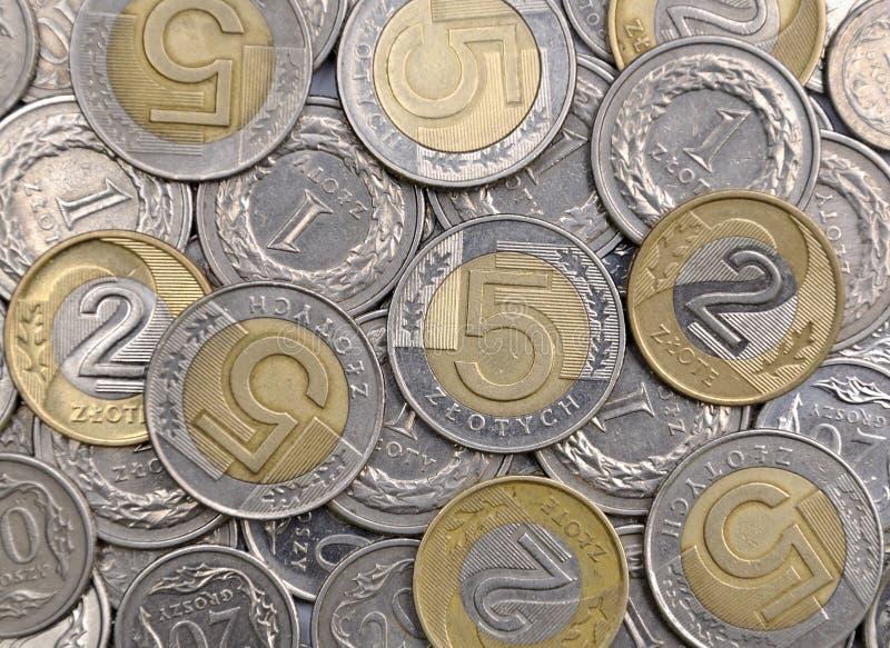 Polnisches Geld stockfotos
