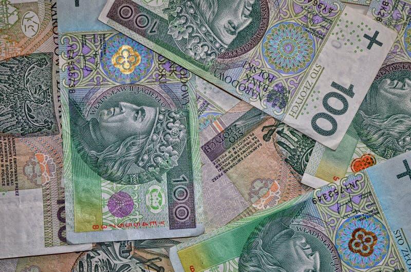 Polnisches Geld stockbilder