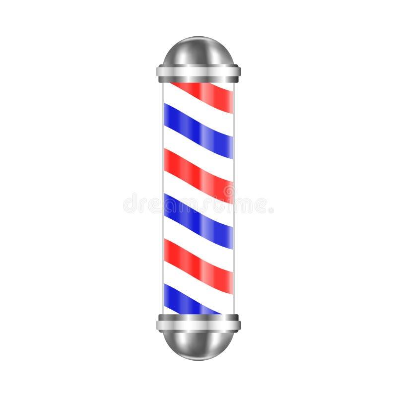 Polo de la barber a aislado ilustraci n del vector - La barberia de vigo ...
