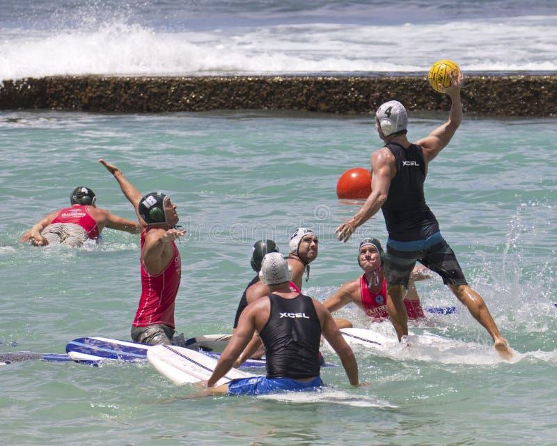 Polo de planche de surf photographie stock libre de droits