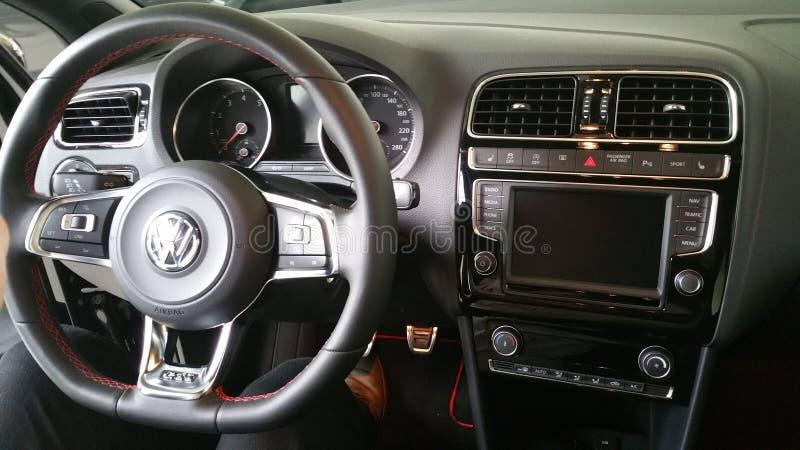 Polo GTI royaltyfri fotografi
