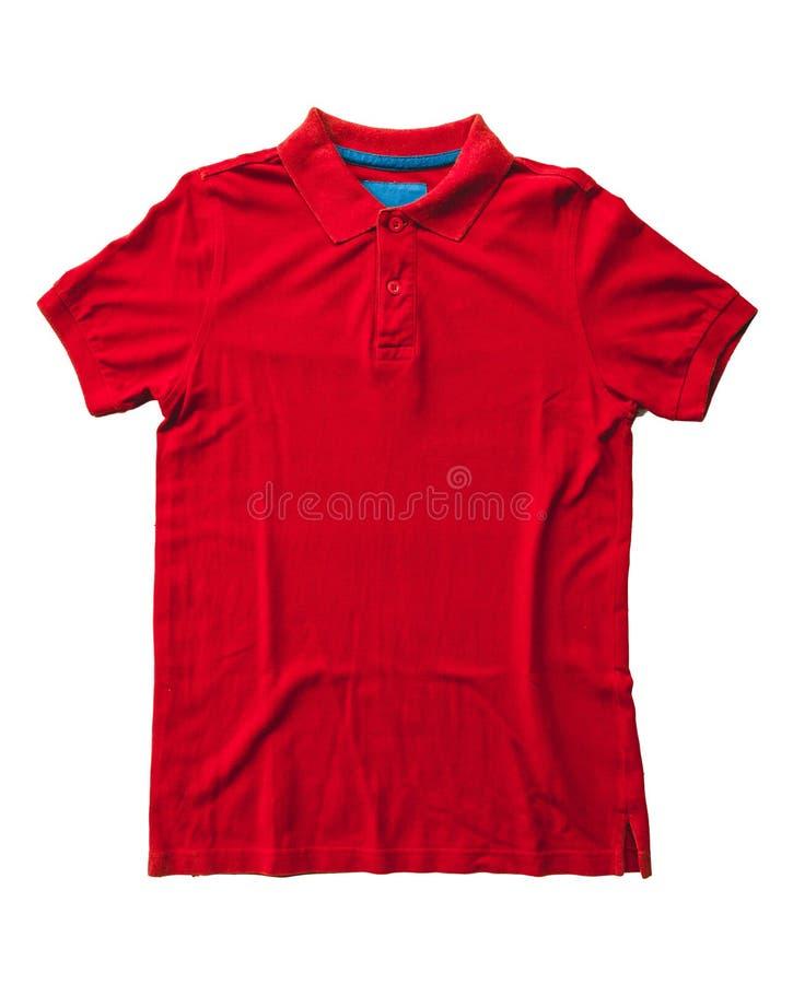 Polo koszula odizolowywająca zdjęcia royalty free