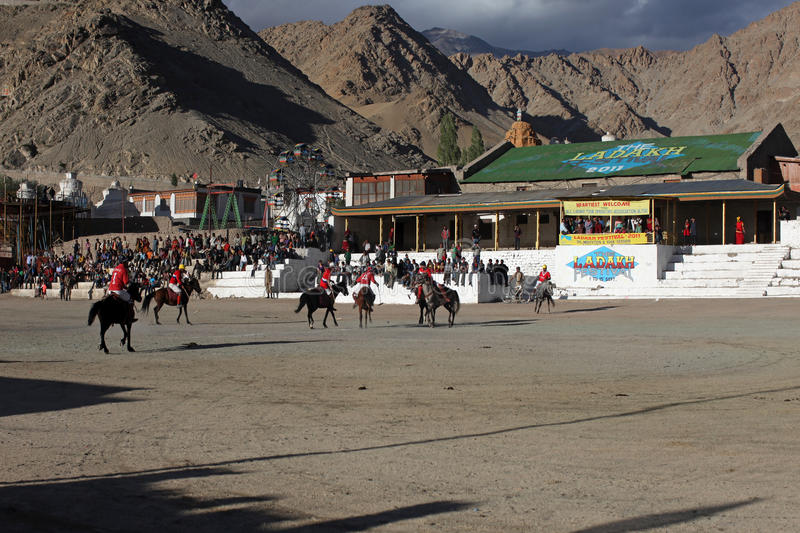 Download Polo Match On Ladakh Festifal Editorial Stock Photo - Image of recreation, sport: 21236458