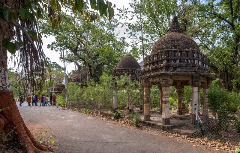 Polo Monument and Vijaynagar Forest-Vijaynagar taluk, Sabarkantha district-North gujarat. 10—Apr-2015-Polo Monument and Vijaynagar Forest-Vijaynagar taluk royalty free stock images