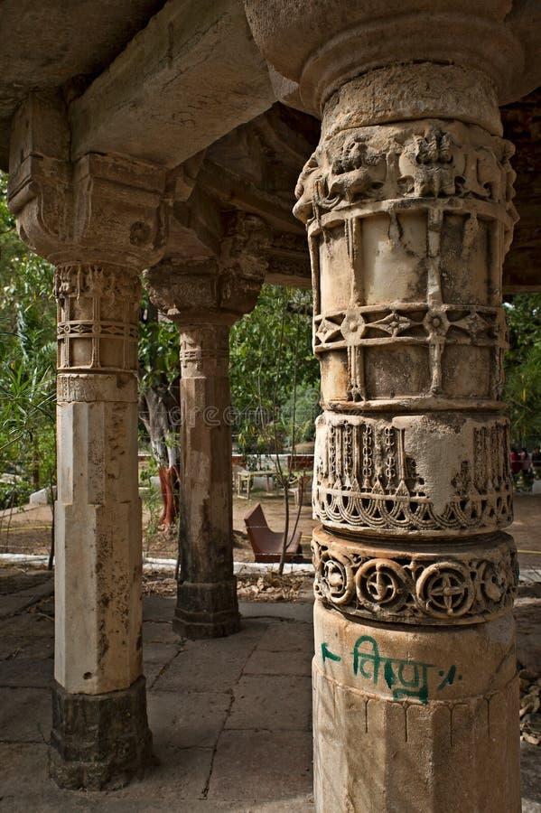 Polo Monument and Vijaynagar Forest-Vijaynagar taluk, Sabarkantha district-North gujarat. 10—Apr-2015-Polo Monument and Vijaynagar Forest-Vijaynagar taluk stock photos