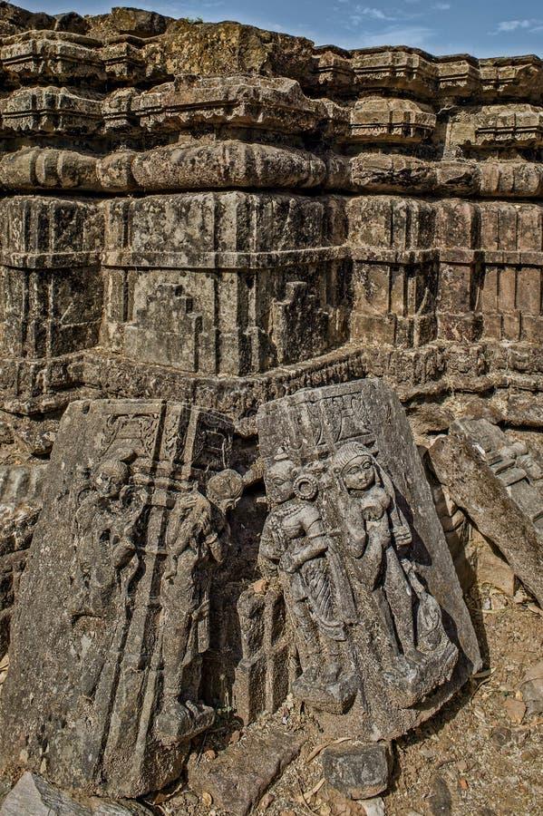-Polo Monument and Vijaynagar Forest-Vijaynagar taluk, Sabarkantha district-North gujarat. 10—Apr-2015-Polo Monument and Vijaynagar Forest-Vijaynagar stock images