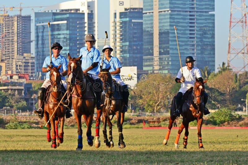 Polo In Mumbai fotografering för bildbyråer