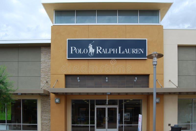 Polo Ralph Lauren sklep zdjęcie stock