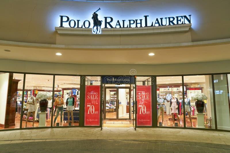 brillante nella lucentezza disponibilità nel Regno Unito nuova alta qualità Polo Ralph Lauren store editorial image. Image of horizontal ...