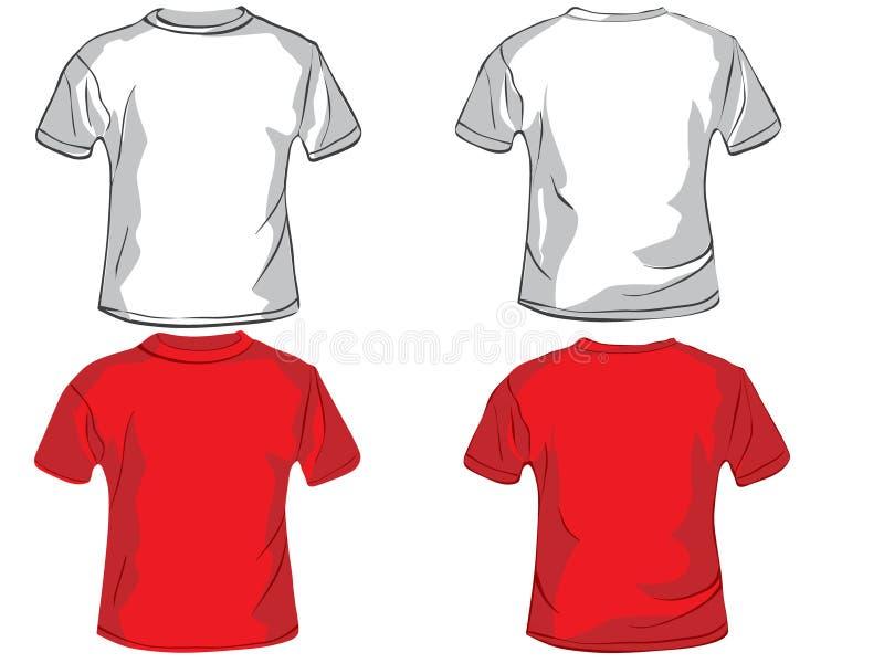 Polo shirt design template royalty free illustration