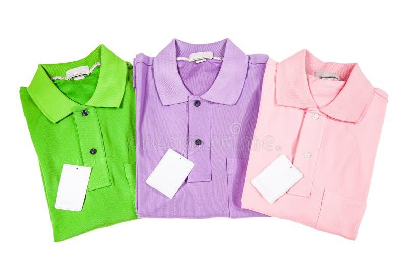 Polo Shirts arkivbild