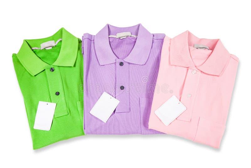 Polo Shirts arkivfoton