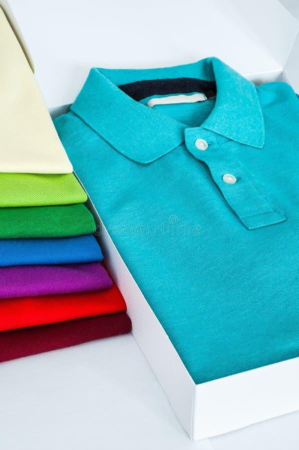 Polo Shirts fotografering för bildbyråer
