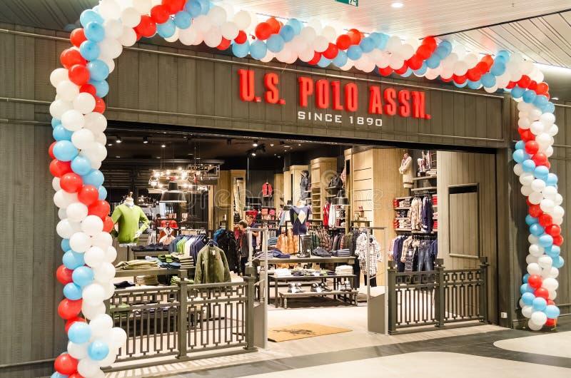 Polo Shop royaltyfri bild