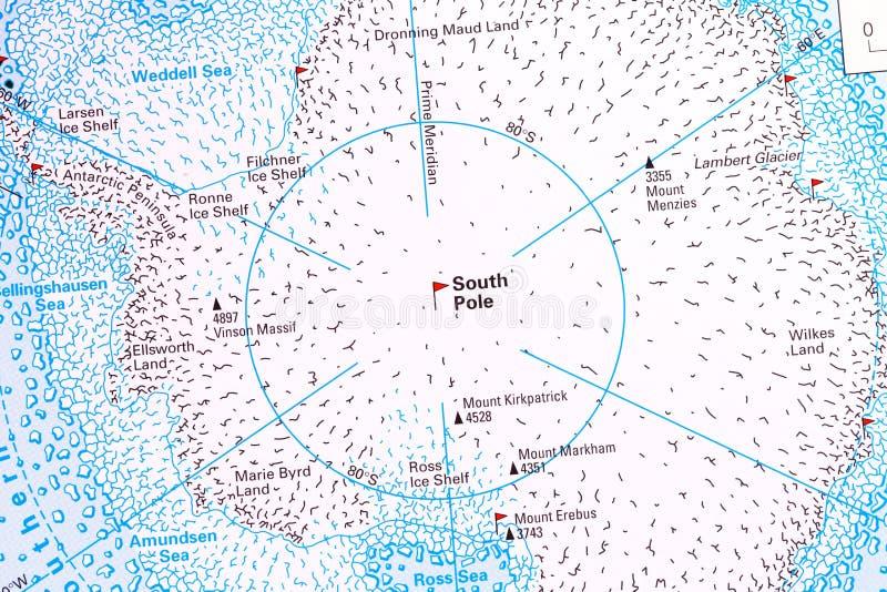 Polo Sud immagini stock