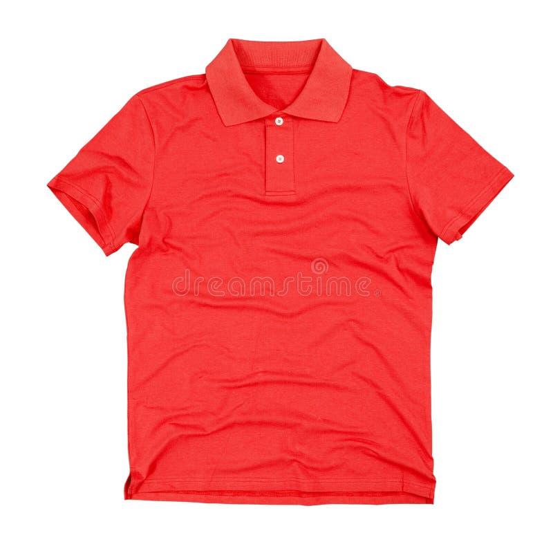 Polo t-shirt isolated on white stock photos