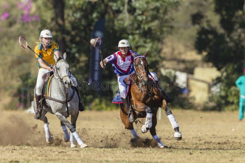 PoloCrosse Australië het Verenigd Koninkrijk stock afbeelding