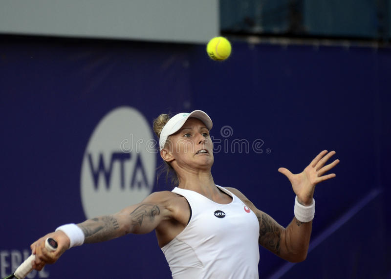 Download Polona Hercog fotografia editoriale. Immagine di backhand - 56883917