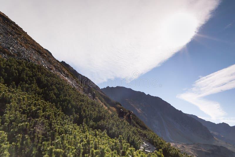 Polonia, Eslovaquia, montañas de Tatra fotografía de archivo libre de regalías