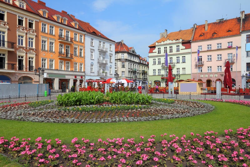 Polonia - Kalisz fotografía de archivo