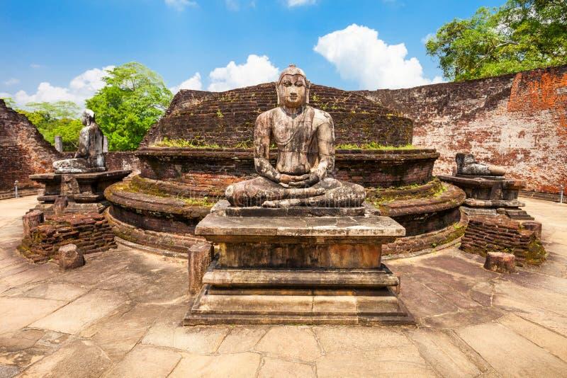 Polonnaruwa在斯里兰卡 免版税图库摄影