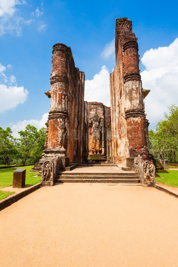 Polonnaruwa en Sri Lanka fotografía de archivo libre de regalías