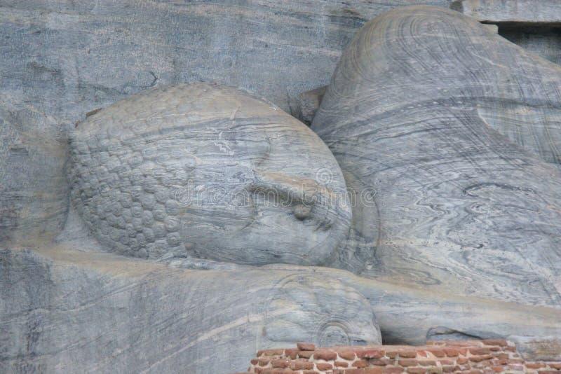 Polonnaruwa en Sri Lanka fotografía de archivo