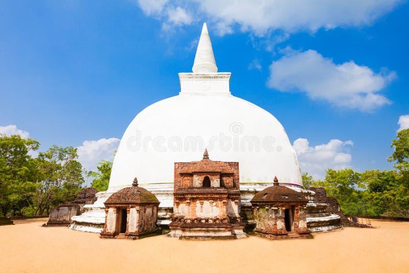 Polonnaruwa en Sri Lanka fotos de archivo