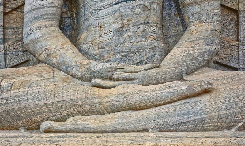 Polonnaruwa Gal Vihara,斯里兰卡 免版税库存照片