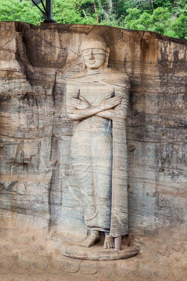 Polonnaruwa i Sri Lanka royaltyfria bilder