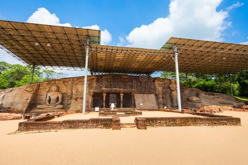 Polonnaruwa i Sri Lanka royaltyfri fotografi