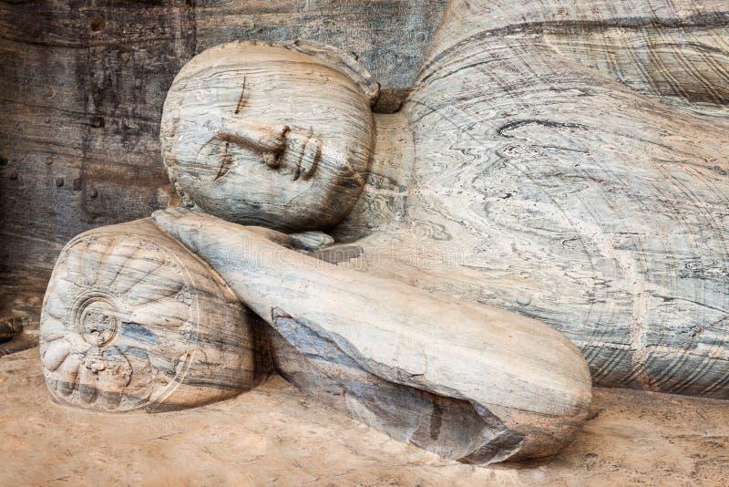 Polonnaruwa i Sri Lanka fotografering för bildbyråer