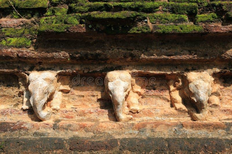 Polonnaruwa-Ruine lizenzfreies stockfoto