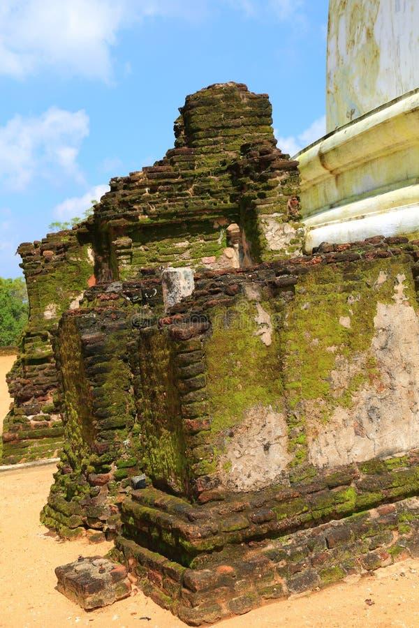 Polonnaruwa-Ruine stockfoto
