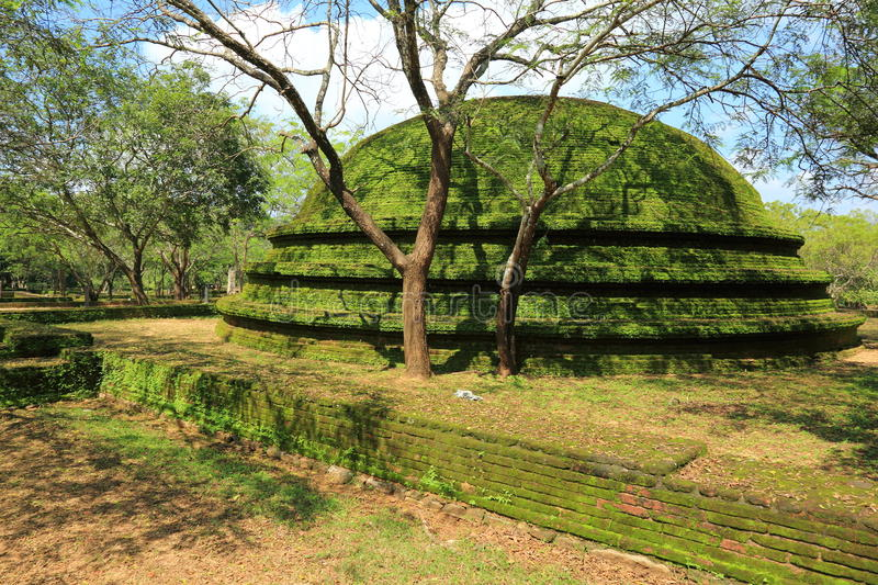 Polonnaruwa-Ruine lizenzfreie stockbilder