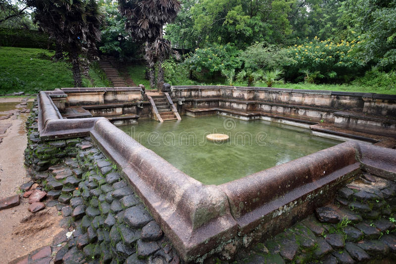 Polonnaruwa temple. Medieval capital of Ceylon,UNESCO royalty free stock photo