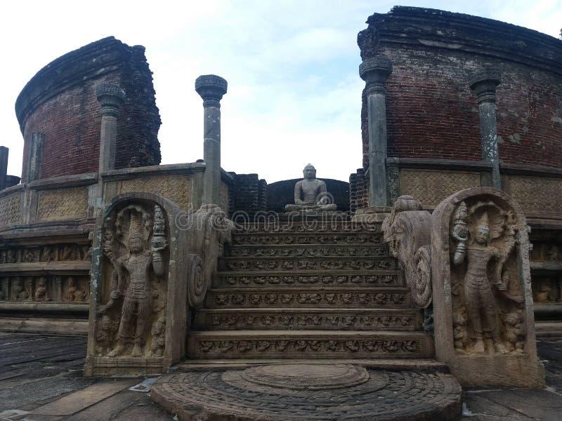 Polonnaruwa Vatadage obraz stock